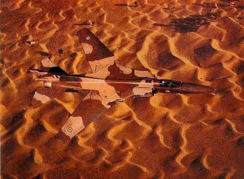 A MiG-27, like a predator, merging into the sands of Rajasthan